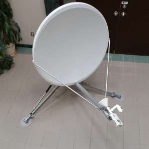Vertex 1138 1.2M flyaway antenna front