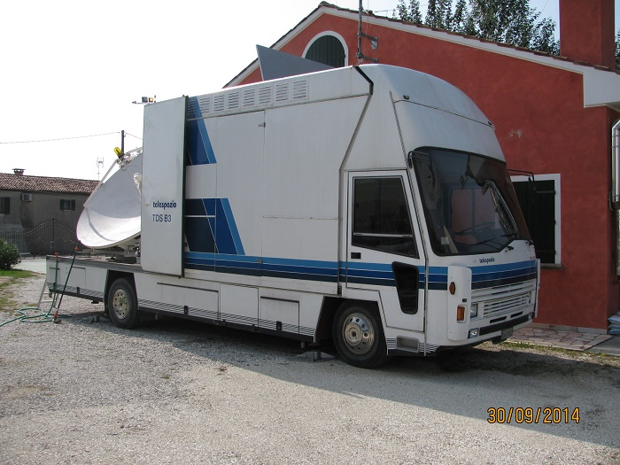 Fiat Olympus TDS B3 DSNG Van with 3.3M Ku-band Antenna (USED) - AI-SAT